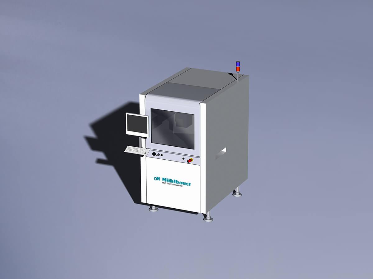 Laserbeschriftungsstation