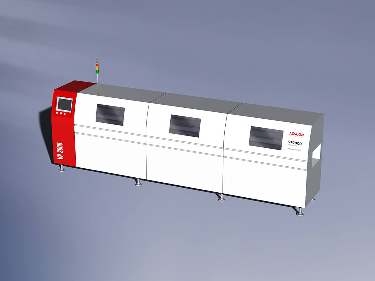 Reflow convection soldering machine