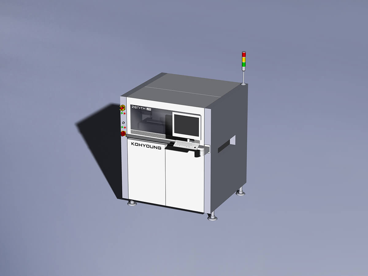 Automatic optical 3D inspection