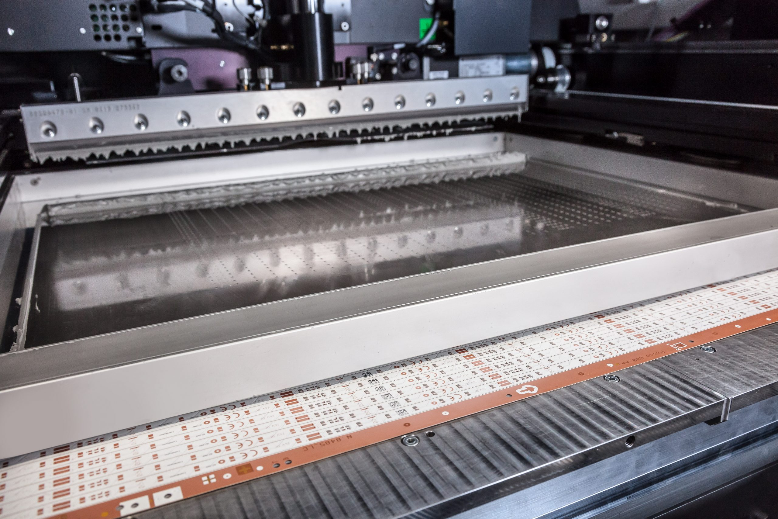Soldering paste printing