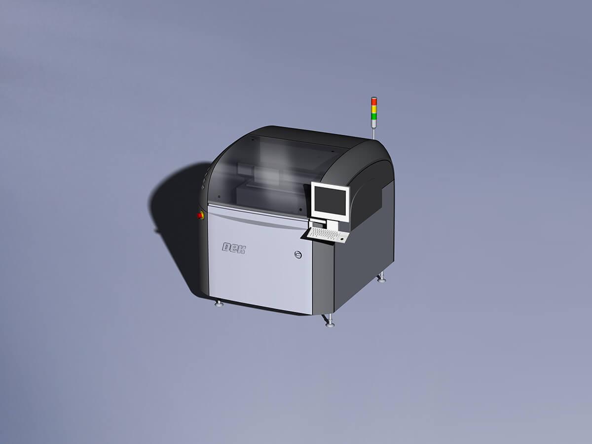 Imprimante à pâte à souder